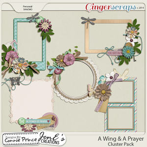 Retiring Soon - A Wing & A Prayer - Cluster Pack
