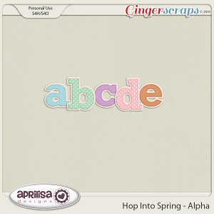 Hop Into Spring - Alpha by Aprilisa Designs