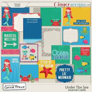 Under The Sea - Journal Cards