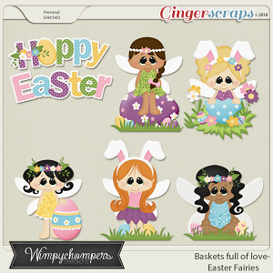 Baskets full of love Easter Fairies