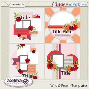 Wild & Free Templates