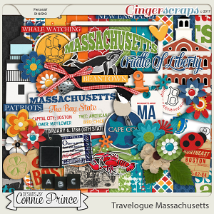 Travelogue Massachusetts - Kit