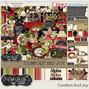 Comfort And Joy Digital Scrapbooking Collection