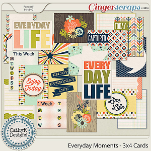 Everyday Moments - 3x4 Cards