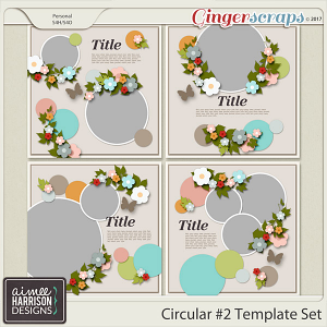 Circular #2 Templates by Aimee Harrison