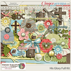 His Glory Full Kit by Trixie Scraps Designs