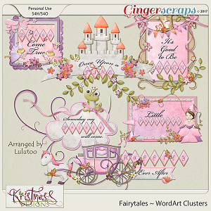 Fairytales WordArt Clusters