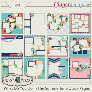 What Do You Do In The Summertime Quick Pages