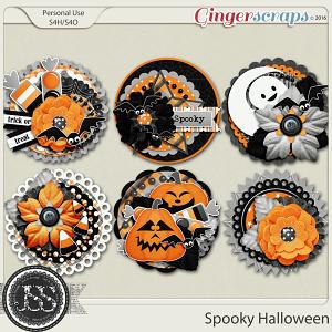 Spooky Halloween Cluster Seals
