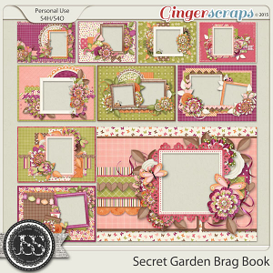 Secret Garden Brag Book