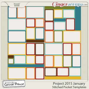 Project 2015 January - Stitched Pocket Templates