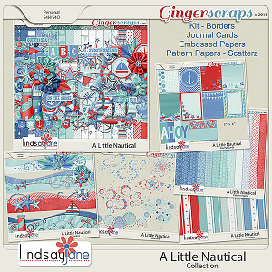 A Little Nautical Collection by Lindsay Jane