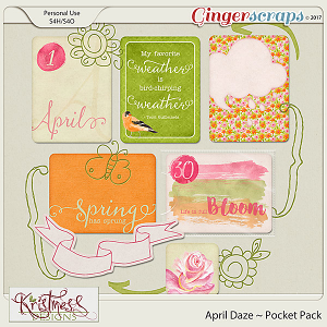 April Daze Pocket Pack