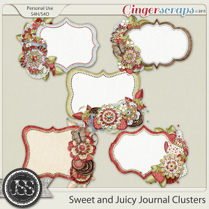 Sweet And Juicy Journal Clusters