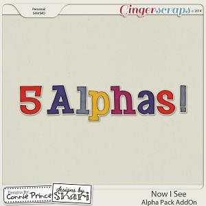 Now I See - Alpha Pack AddOn