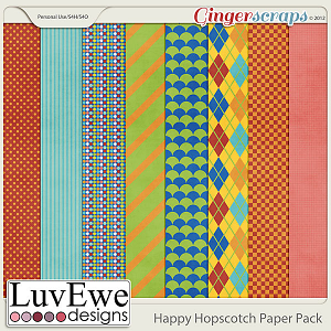 Happy Hopscotch Paper Pack