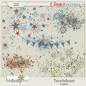 Touchdown Scatterz by Lindsay Jane