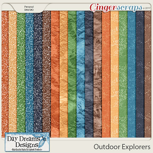 Outdoor Explorers {Glitters} by Day Dreams 'n Designs