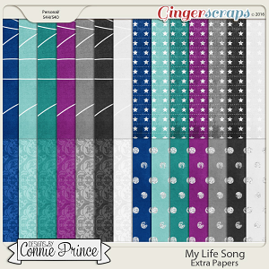 My Life Song - Extra Papers