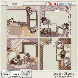 Legacy Of Love - QuickPage Album