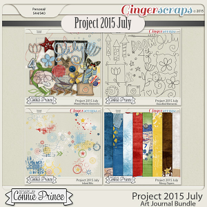 Project 2015 July - Art Journal Bundle