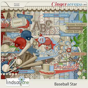 Baseball Star by Lindsay Jane