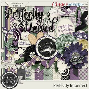 Perfectly Imperfect Digital Scrapbook Kit