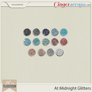 At Midnight Glitters by JoCee Designs