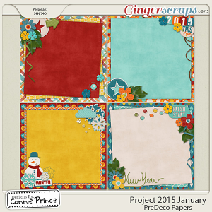 Project 2015 January - PreDeco Papers