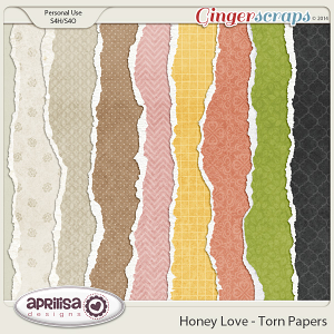 Honey Love - Torn Papers