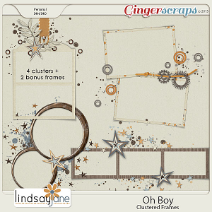 Oh Boy Frames by Lindsay Jane