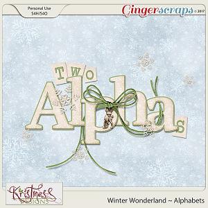 Winter Wonderland Alphabet