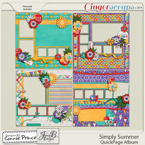 Simply Summer  - QuickPage Album
