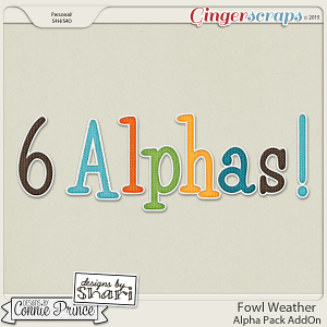 Fowl Weather - Alpha Pack AddOn