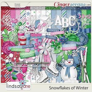 Snowflakes of Winter by Lindsay Jane
