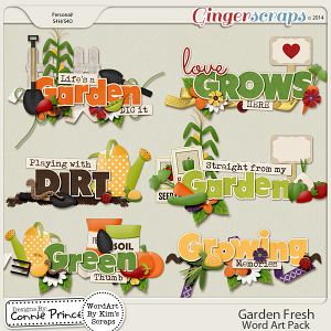 Garden Fresh - WordArt