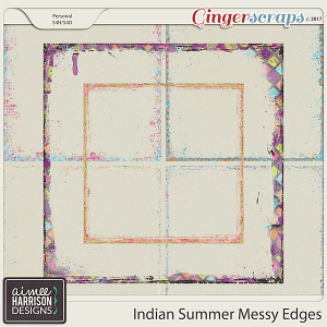 Indian Summer Messy Edges by Aimee Harrison