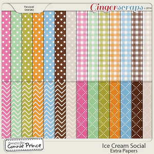 Ice Cream Social - Extra Papers
