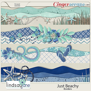 Just Beachy Borders by Lindsay Jane