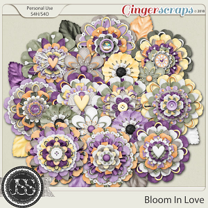Bloom In Love Layered Flowers