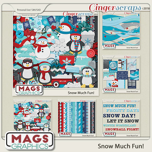 Snow Much Fun BUNDLE by MagsGraphics