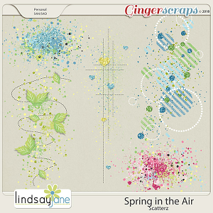 Spring in the Air Scatterz by Lindsay Jane