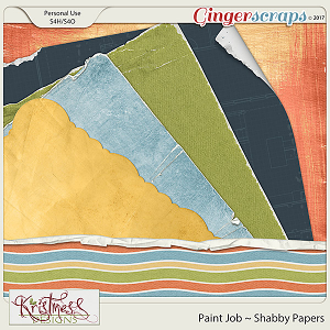 Paint Job Shabby Papers