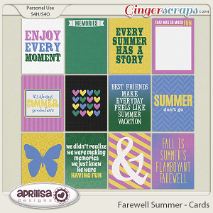 Farewell Summer - Cards