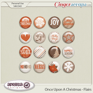 Once Upon A Christmas - Flairs