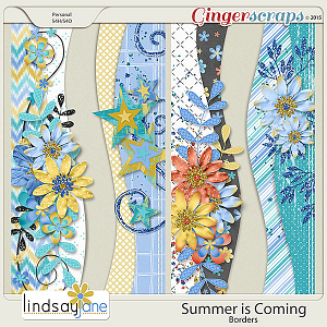 Summer is Coming Borders by Lindsay Jane