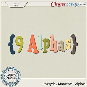 Everyday Moments - Alphas