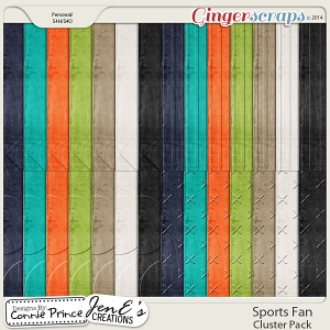 Sports Fan - Embossed Papers