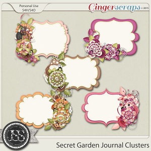 Secret Garden Journal Clusters