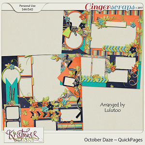 October Daze QuickPages